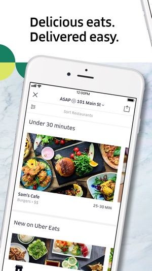 Uber eats food delivery on the app store screenshots forumfinder Choice Image