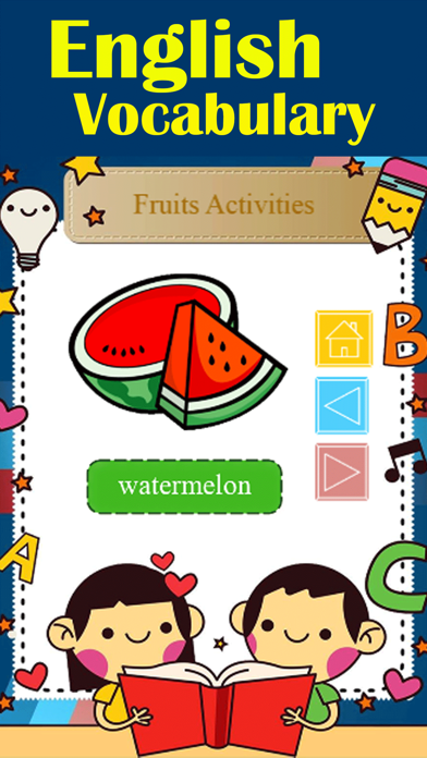 Reading Fruit Names with Test