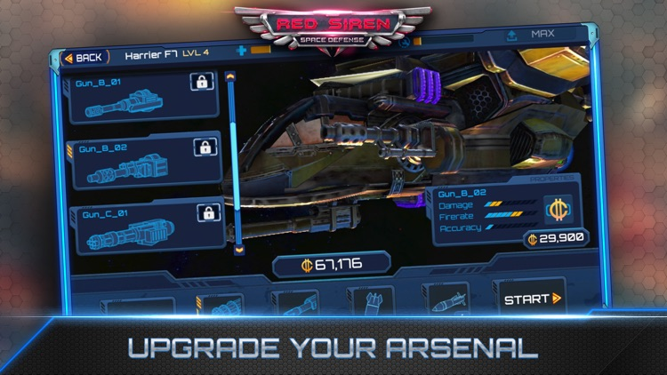 Red Siren: Space Defense screenshot-4