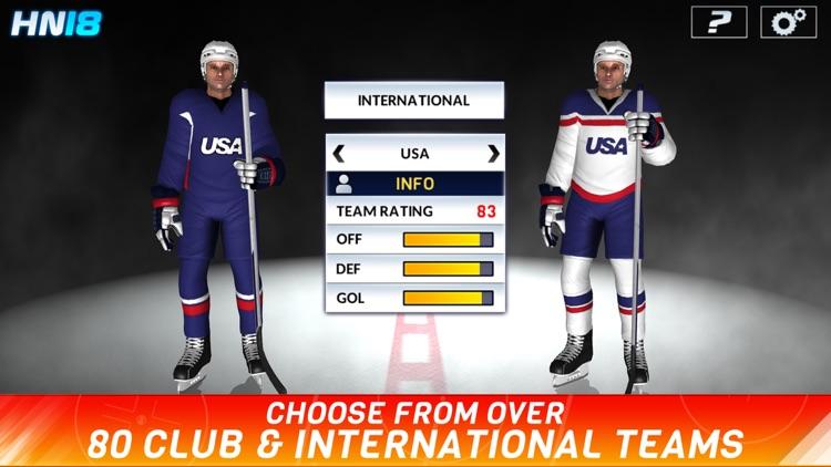 Hockey Nations 18 screenshot-3