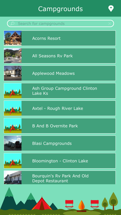Kansas RV Campgrounds screenshot two
