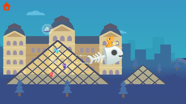 Dinosaur Plane - Game for kids screenshot-0