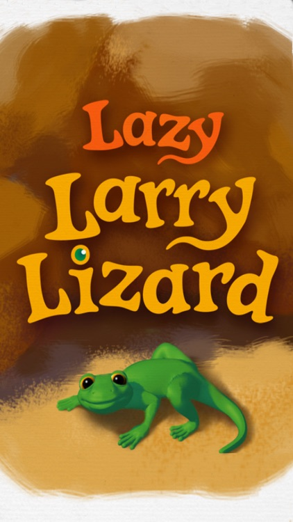 Lazy Larry Lizard