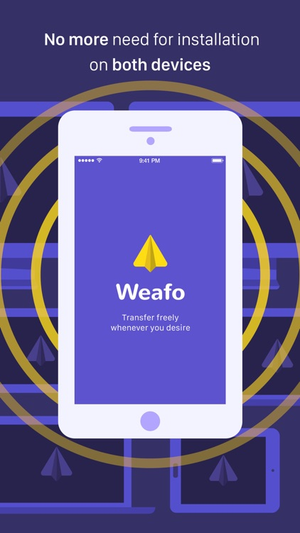 Weafo - Share Photo & Video screenshot-1
