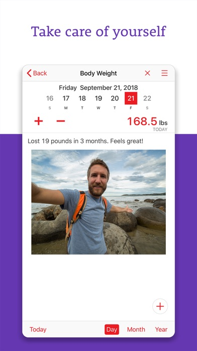Calorie Tracker+ Nutrition Screenshots