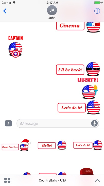 CountryBalls - USA screenshot-4
