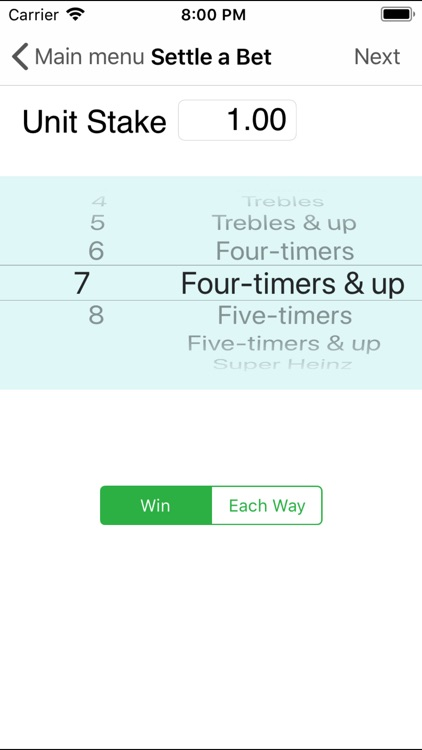 Bet Settler - Betting Calc