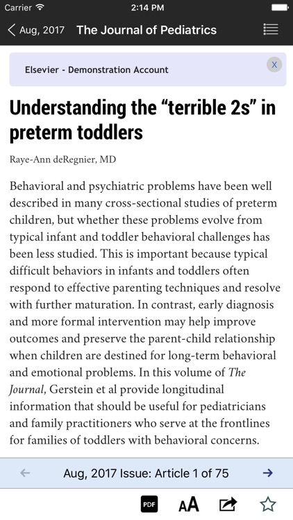 The Journal of Pediatrics screenshot-4