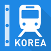 Korea Rail Map - Seoul, Busan & All South Korea