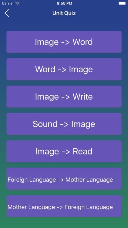 Korean Word Flashcards Learn screenshot-3