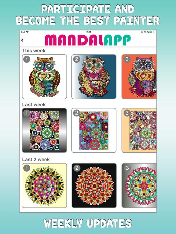 Coloring Book - Mandalapp screenshot 6