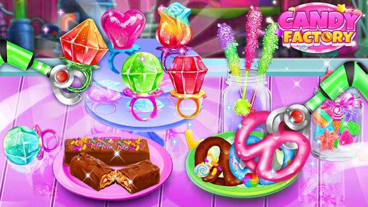 Sweet Candy Maker Games! screenshot-0