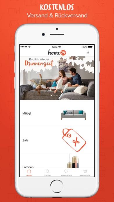 home24 - Möbel Online Shop App Bewertung - Shopping - Apps Rankings!