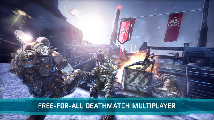 Shadowgun DeadZone PvP Battles screenshot-0