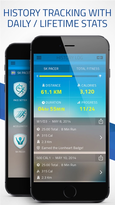 Pacer 5K: run faster racesのおすすめ画像5