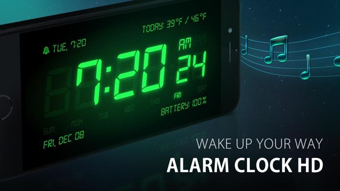 Alarm Clock HD - Music Alarms Screenshot