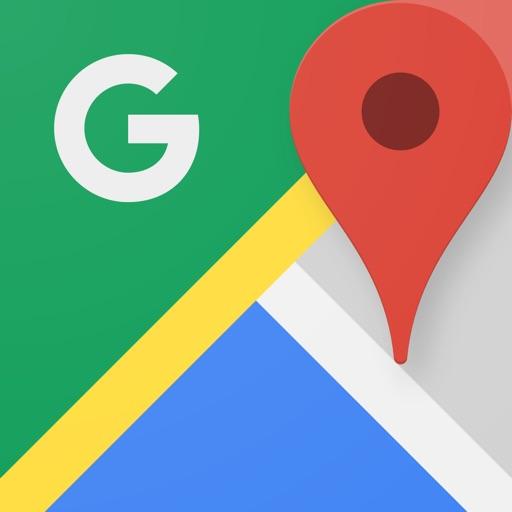 Google マップ  乗換案内 & グルメ