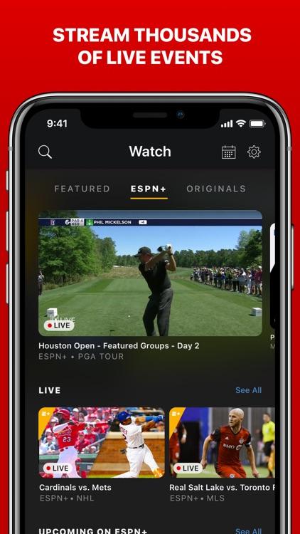 ESPN: Live Sports & Scores screenshot-4