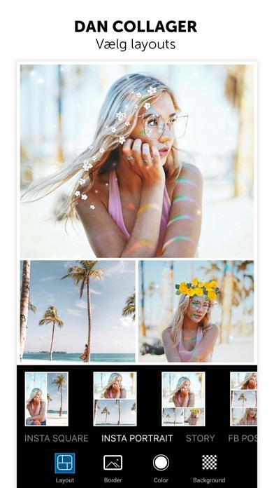 Screenshot for PicsArt foto- & collageværktøj in Denmark App Store