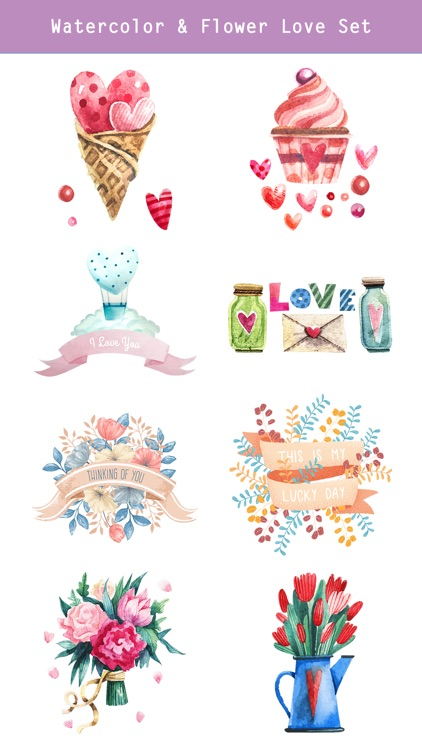 Happy Love Stickers - Animated screenshot-3