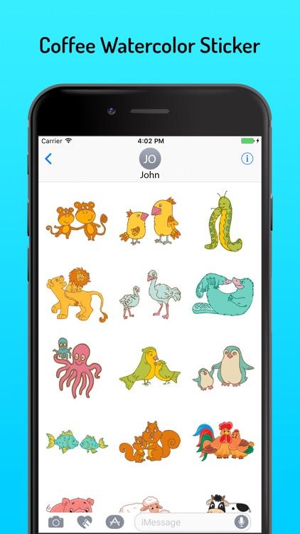 Animal Stickers Pack AniMojis screenshot-3