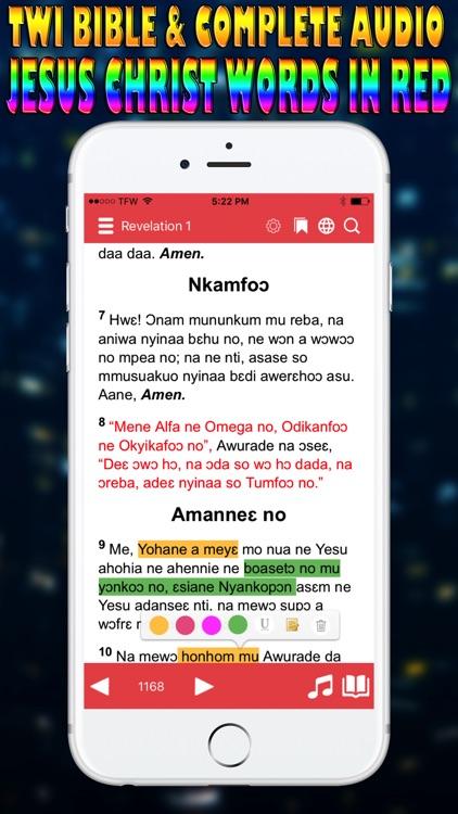 Twi Bible Asante screenshot-3