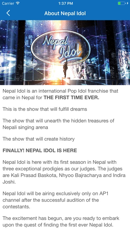 Nepal Idol screenshot-2