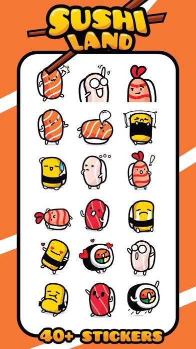 Sushi Land Stickers