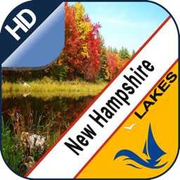 New Hampshire Lakes offline chart for boaters