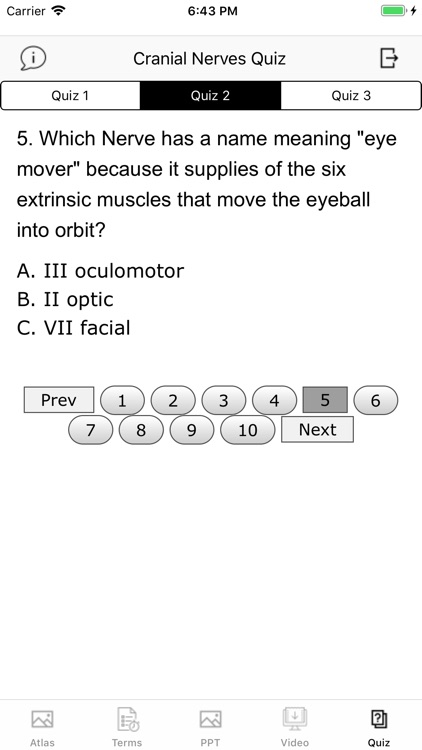 Cranial Nerves Plus screenshot-4