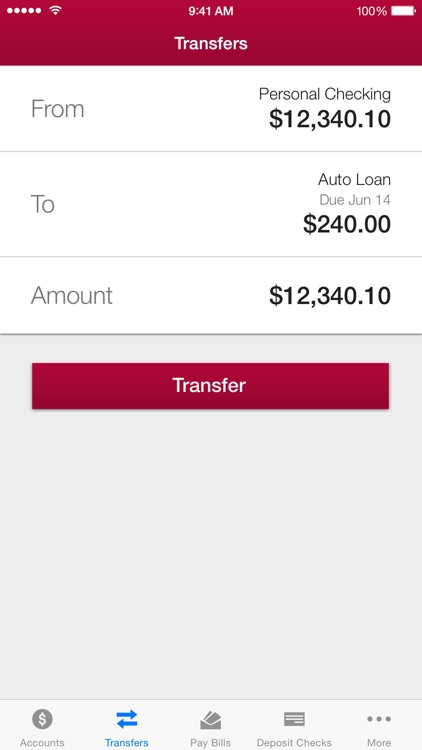 IU Credit Union Mobile Banking screenshot-4