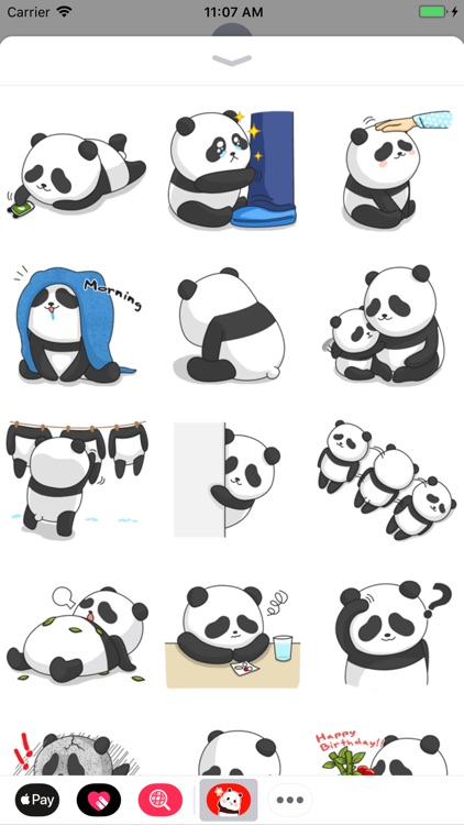 Panda Stickers Collection screenshot-6