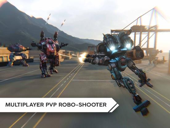 Robot Warfare: Mech Battle screenshot 14