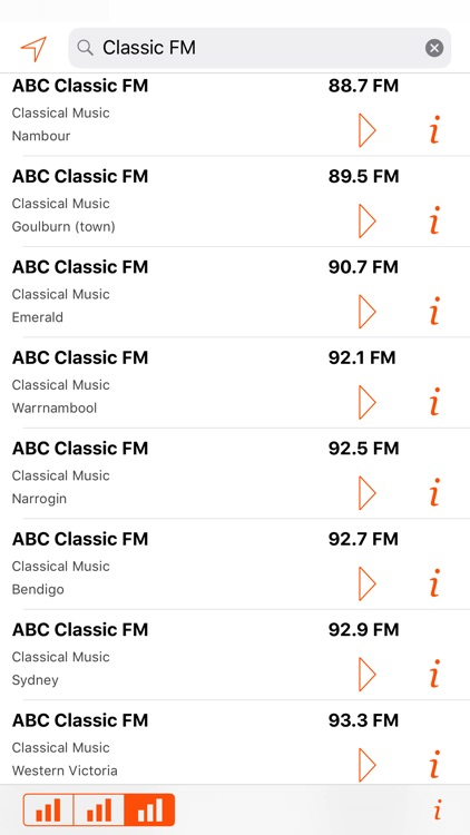Radio Guide Australia Lite screenshot-3