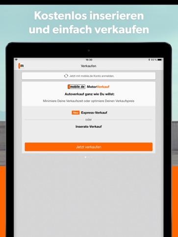 Mobilede Automarkt Ipad App Itunes Deutschland Chartoo