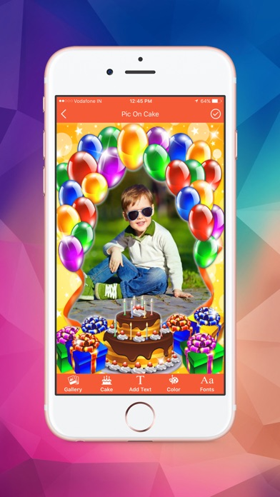 Name and Photo on Birthday Cakes screenshot three