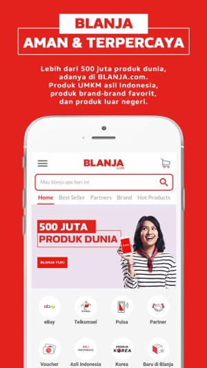 BLANJA - Jual Beli Online di App Store on