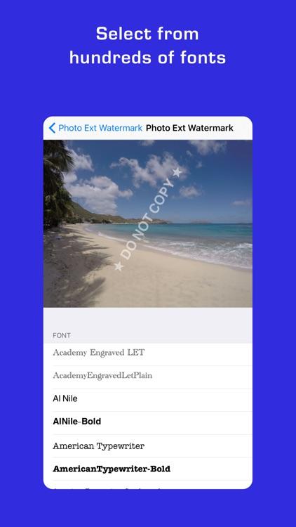 Photo Extension Watermark screenshot-4