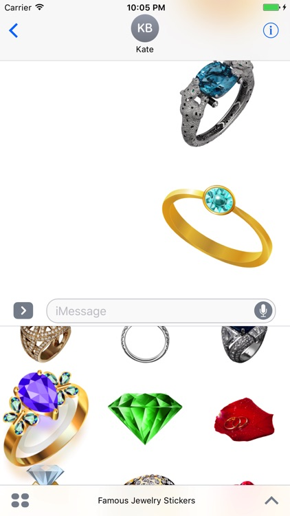 Famous Jewelry Stickers