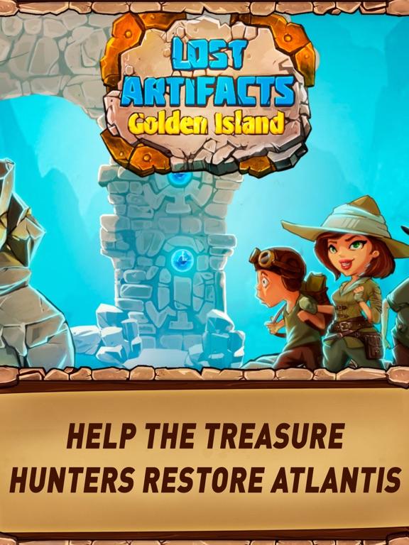 Кладоискатели: Золотой Остров на iPad