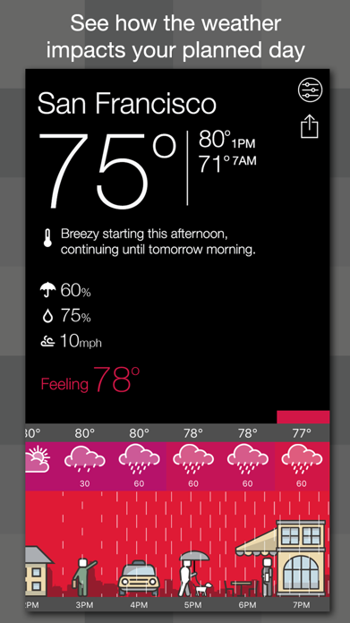 A Weather Way Screenshot