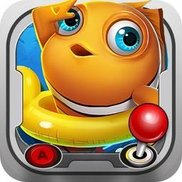 捕鱼·疯狂捕鱼-捕鱼游戏厅达人联网捕鱼游戏