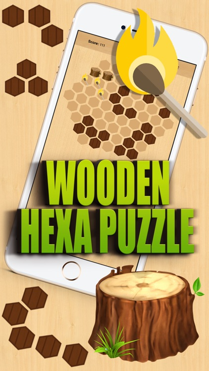 Wooden Hexa Puzzle screenshot-0