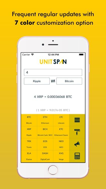 Unitspan - Units Converter screenshot-3