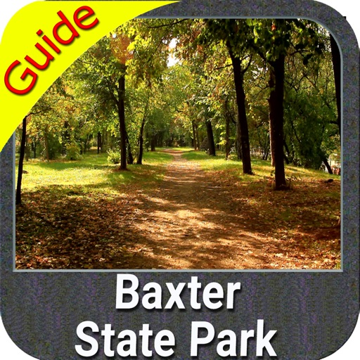 Baxter State Park  gps and outdoor map with Guide