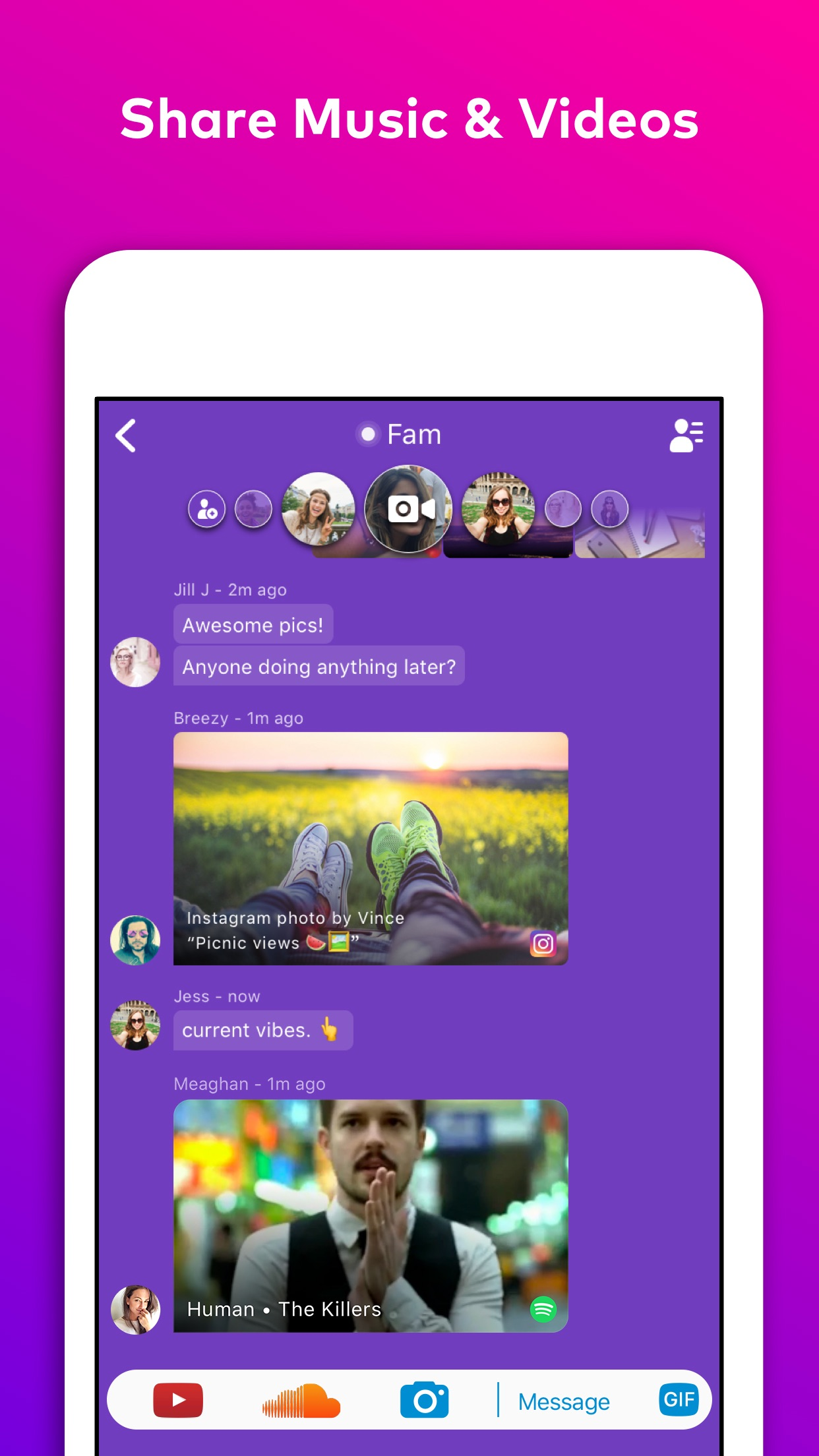 Airtime: Live Group Video Chat Screenshot