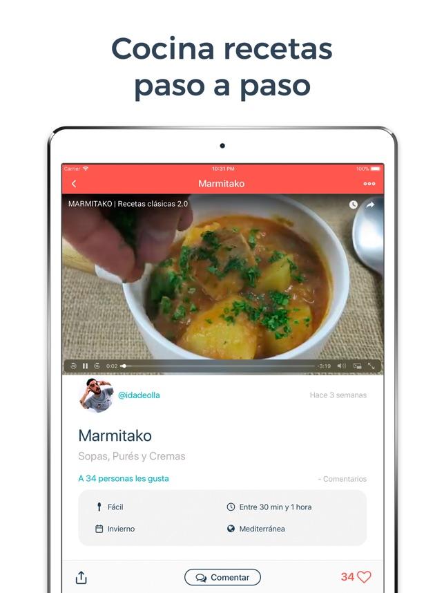 Hatcook Recetas de Cocina en App Store