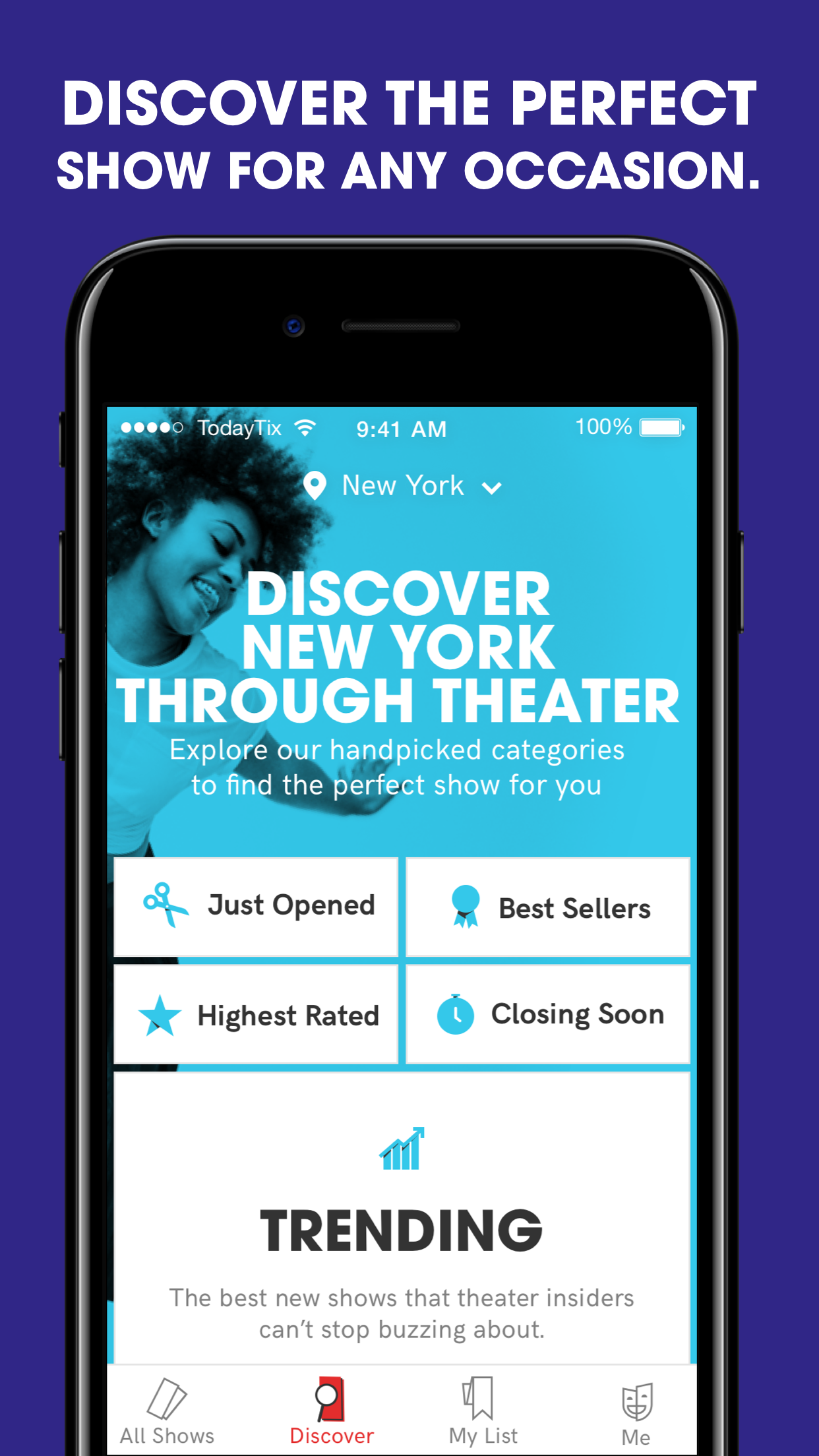 TodayTix – Broadway Tickets Screenshot