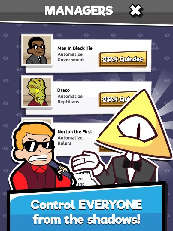 We Are Illuminati - Clicker screenshot #3