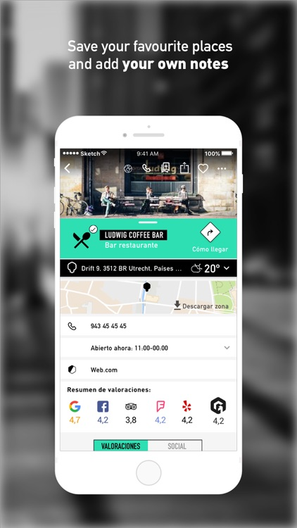 GOAZ: Make social your trips